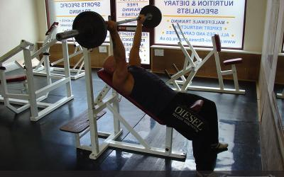 Reverse Grip Incline Bench Press