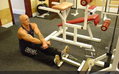 Rope Crossover Seated Row