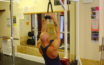 Rope Lat Pull Down