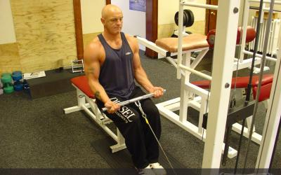 Seated Cable Curl