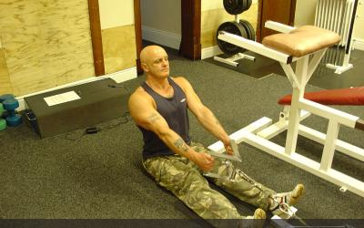 Seated Cable Shrug