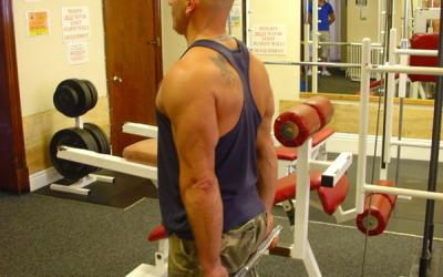 Standing Cable Wrist Curl (behind back)