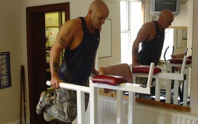 Weighted Chest Dip