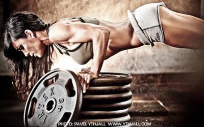 Fitness Super Model Lauren Frahn