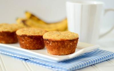 Low Calorie Banana Bread Protein Muffins Recipe