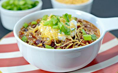 Protein-Packed Smoky Bison Chili