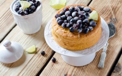 Blueberry Mug Cake With FitMiss Vanilla Chai