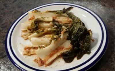Spicy Garlic Bok Choy