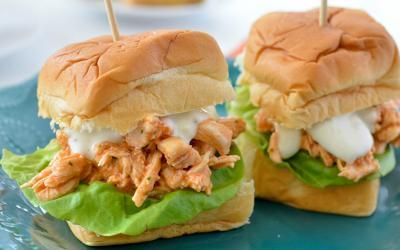 Gameday Buffalo Chicken Sliders Recipe