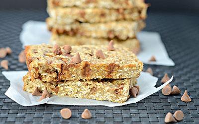 Cinnamon Chip Caramel Protein Bars