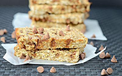 Cinnamon Chip Caramel Protein Bars