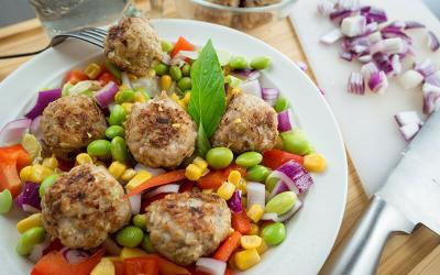 High Protein Chicken Meatballs Recipe