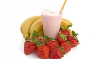 Chocolate Banana Berry Protein Shake