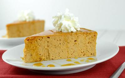Crustless Low-Carb Protein Pumpkin Pie Recipe