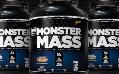 Monster Mass Turbo Bulking Oatmeal