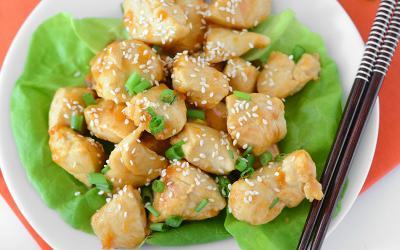 Simple Low Carb Orange Chicken Recipe