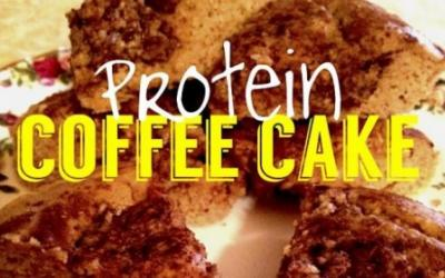 Healthy High Protein Cinnamon Coffee Cake Recipe