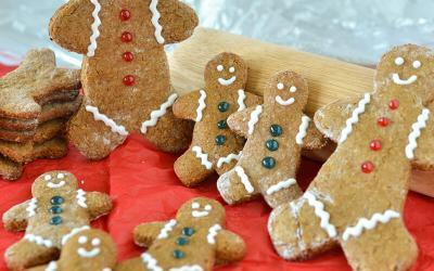 Protein Gingerbread Men Cookie Recipe