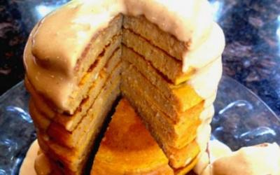 Protein Pumpkin Pancakes With Oats Recipe