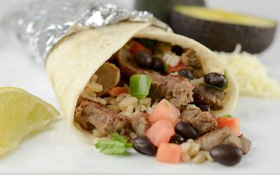 Protein Packed Grilled Steak Burrito Recipe