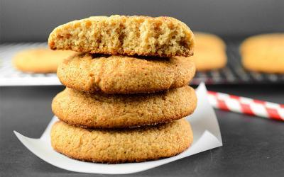 Chewy Snickerdoodle Protein Cookies Recipe