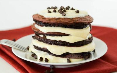 Red Velvet Protein Pancakes Recipe