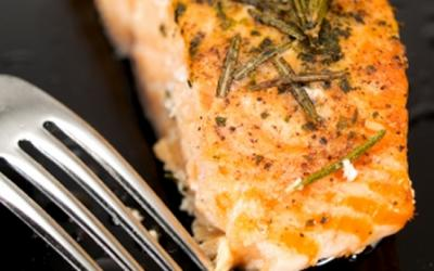 Salmon Steaks with Ginger