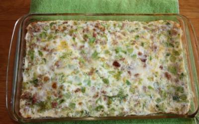 Turkey Sausage Frittata With Egg Whites