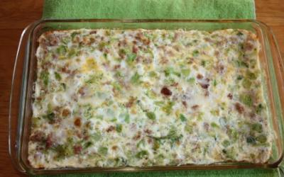 Turkey Sausage Frittata With Egg Whites