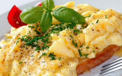 Spicy Scrambled Eggs