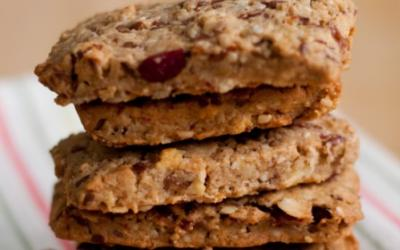 Strawberry Protein Bars With Raisins