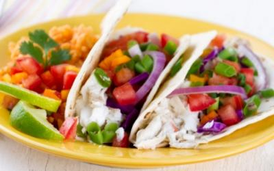 Grilled Tilapia Tacos With Pico De Gallo