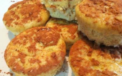 FitMiss Vanilla Chai Protein Muffins