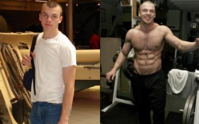 Alex Lee Body Transformation