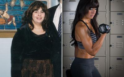 Body Transformation: Charlene Bazarian Loses 92lbs Naturally!