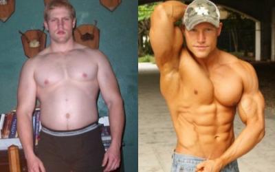 Chris Heitman Body Transformation