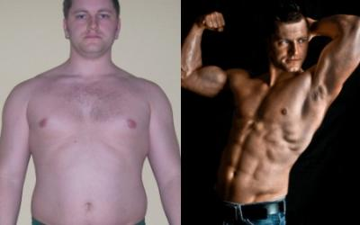 Christian Leva Body Transformation
