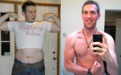 Christian Robinson Body Transformation