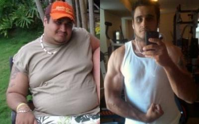 Claudio Ramos Body Transformation