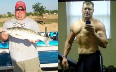 Clayton Burkhart Body Transformation