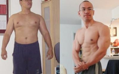 Daniel Aipa Body Transformation