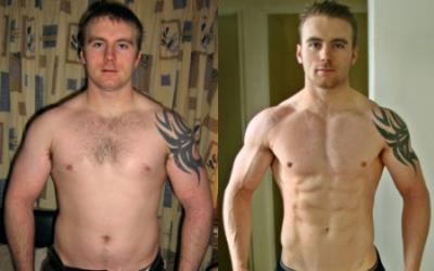 David Cullen Body Transformation