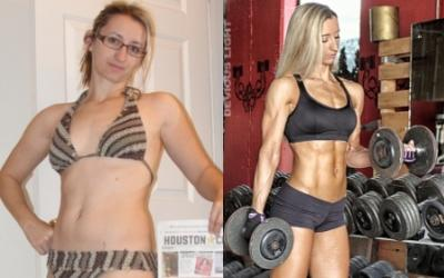 Female Body Transformations Read Stories View Pictures Muscle Strength Obese to fit muscular body transformation women motivation before and after. female body transformations read