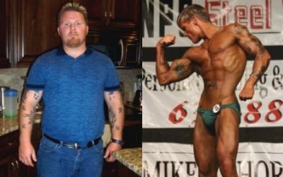 Jimmy Oller Body Transformation