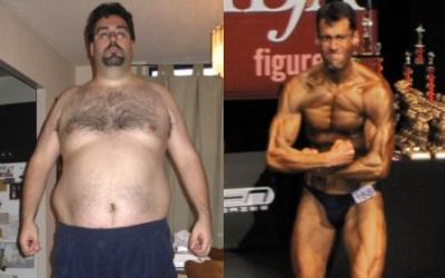 Mark Irwin Body Transformation