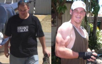 Martyn Knowles Body Transformation