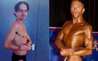 Michael Mitchell Body Transformation