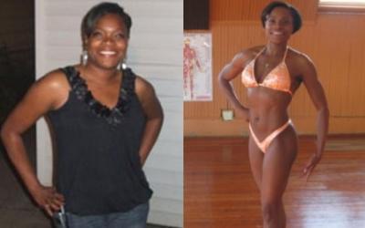 Nakia Dunigan Body Transformation