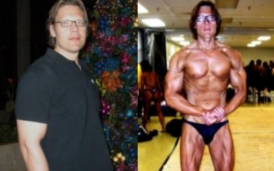 Robert Duda Body Transformation