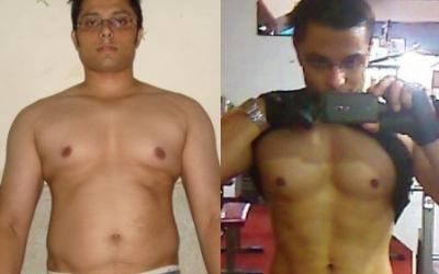 Sameer Khan Body Transformation